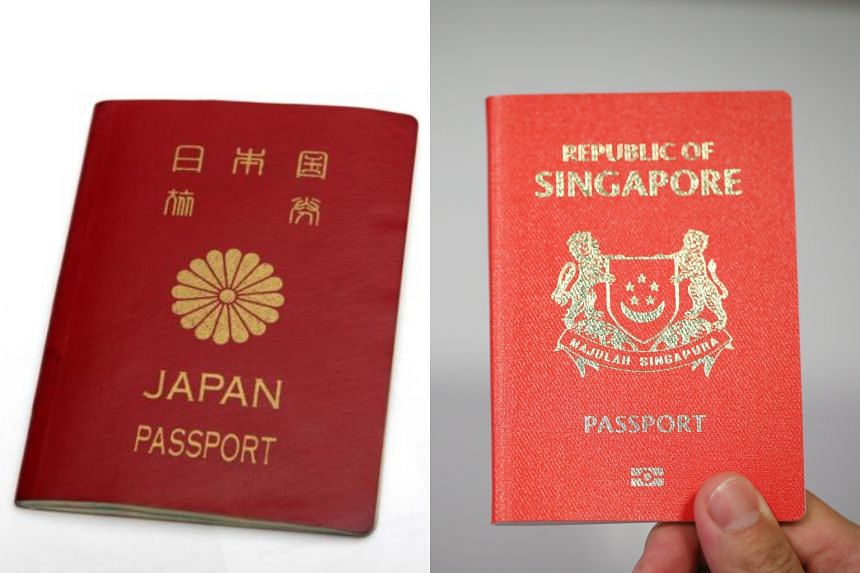 Last year, both Japan and Singapore passports took top ranking with access to 190 countries without a prior visa.