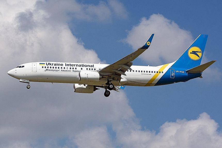 Ukraine International Airlines has a fleet of 42 planes made up of various Boeing aircraft. It also operates Embraer aircraft.
