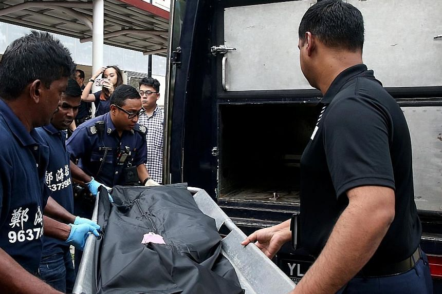 JUNE 2016: The body of a newborn boy who was found in a toilet bin at Tampines MRT station.