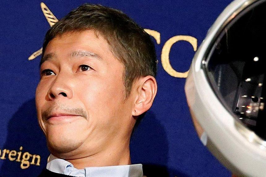 Mr Yusaku Maezawa will give $12,000 each to 1,000 Twitter followers, selected at random.