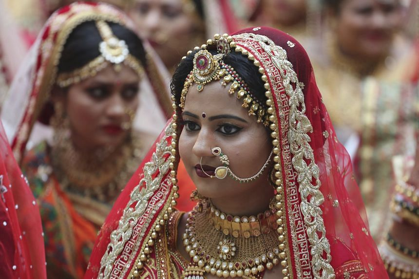 India's massive wedding industry is worth an estimated US$40-50 billion a year.