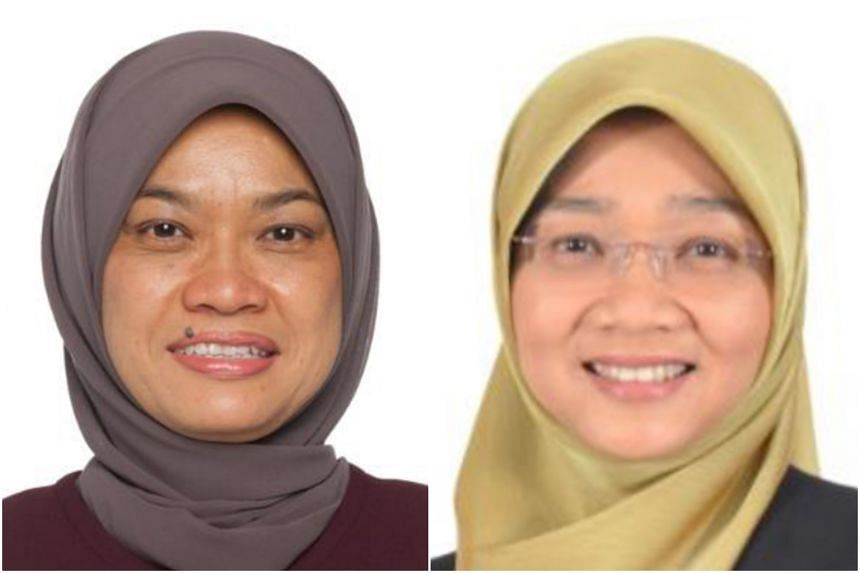 Madam Zuraidah Abdullah (left) will be appointed chief executive-designate of Mendaki on March 1 before assuming the top post on April 1, when current CEO Rahayu Buang returns to the Ministry of Social and Family Development.