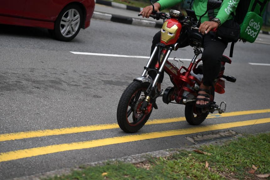 About 2,600 food delivery riders have applied to switch from e-scooters to e-bikes for their work.