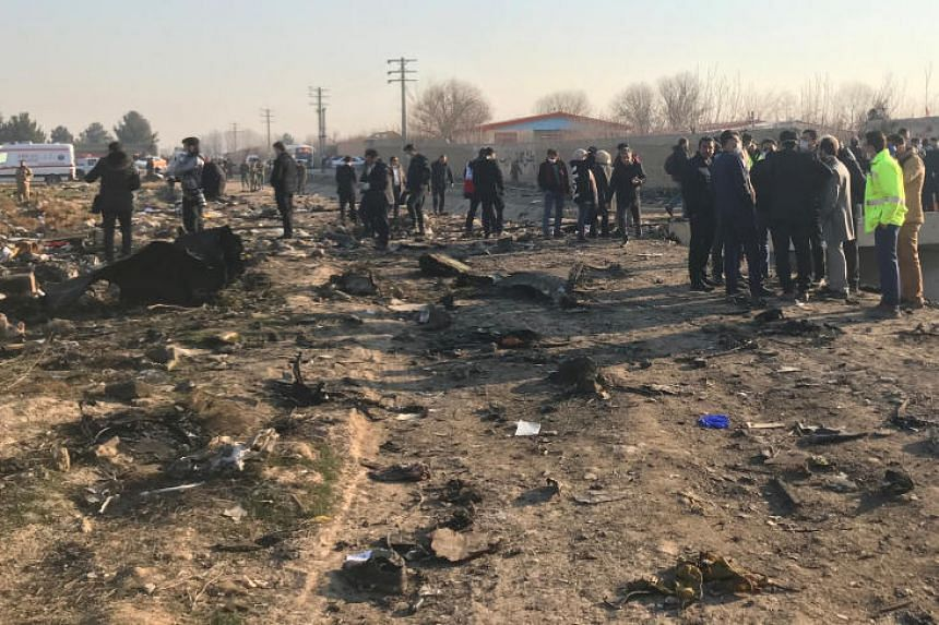 Ukraine is looking at various possible causes of the plane crash, including a possible missile attack, a collision, an engine explosion or terrorism.