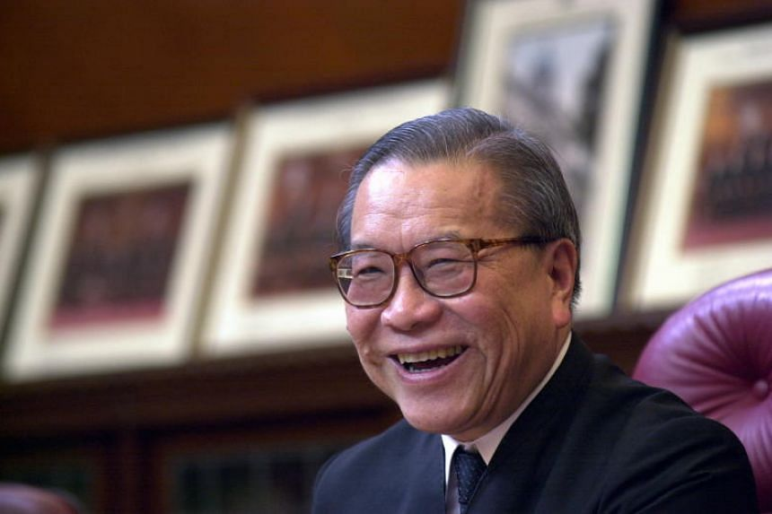Singapore's former chief justice Yong Pung How died on Jan 9, aged 93.