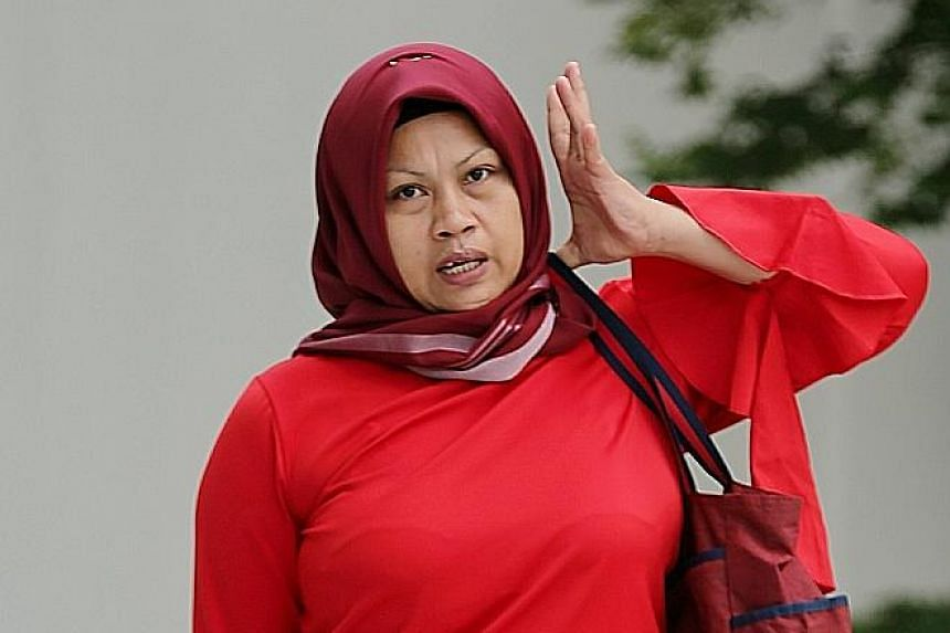 Indonesian maid Eis Atikah, 38, admitted to her offences when confronted.