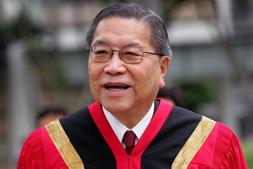 Mr Yong Pung How's transformation of the court system is well documented. He single-handedly conceived and drove its modernisation, taking the courts from the practices inherited from a 19th century colonial system to the 21st century. LIANHE ZAOBAO