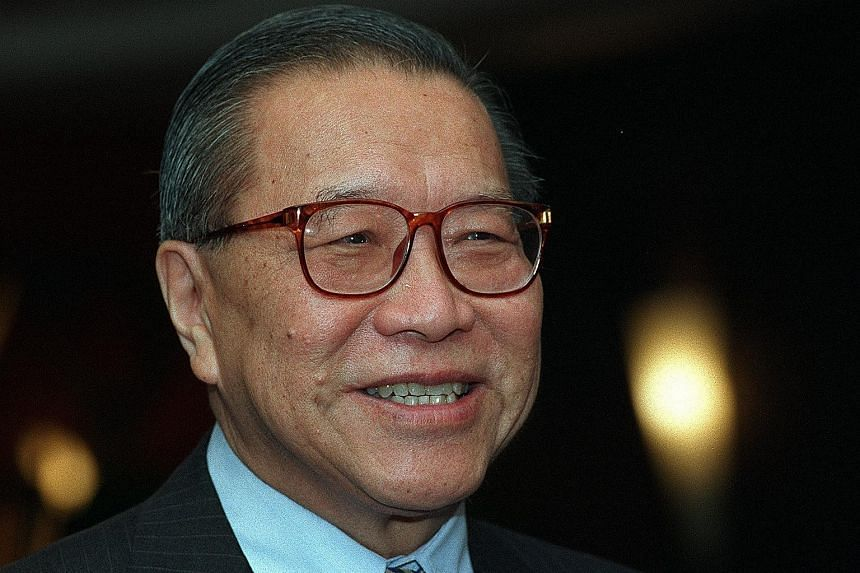 Former chief justice Yong Pung How, best remembered for his bold and wide-ranging reforms to Singapore's judiciary - from abolishing wigs for judges and bibs for lawyers to clearing a backlog of cases - died yesterday. He was 93. Mr Yong left the law
