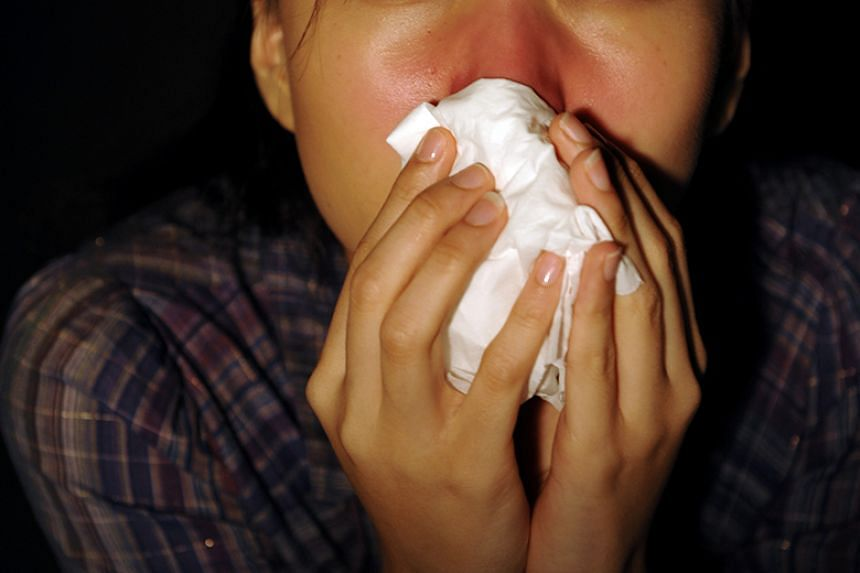A higher number of people coming down with influenza and the common cold is a normal phenomena at this time of the year.