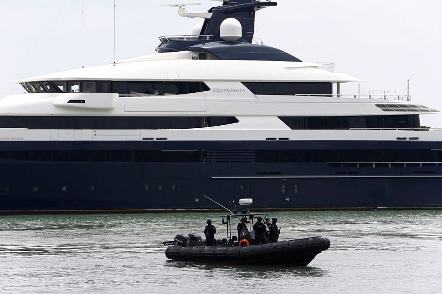 Genting Malaysia Bhd said in April last year it was buying the superyacht that had been seized by the Malaysian government. Genting renamed the vessel Tranquility.