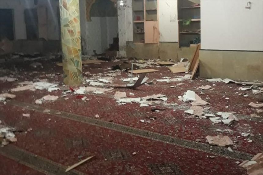 The bombing in the city of Quetta also wounded 11 other worshippers.
