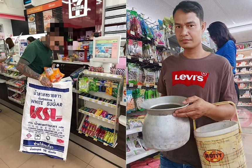 Customers in Thailand can now pay a small fee for reusables but budget-conscious shoppers saved money by grabbing anything available and celebrating the different choices on social media.