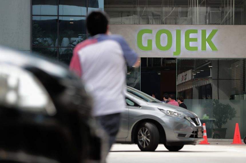 Gojek's office at 38 Sin Ming Lane.