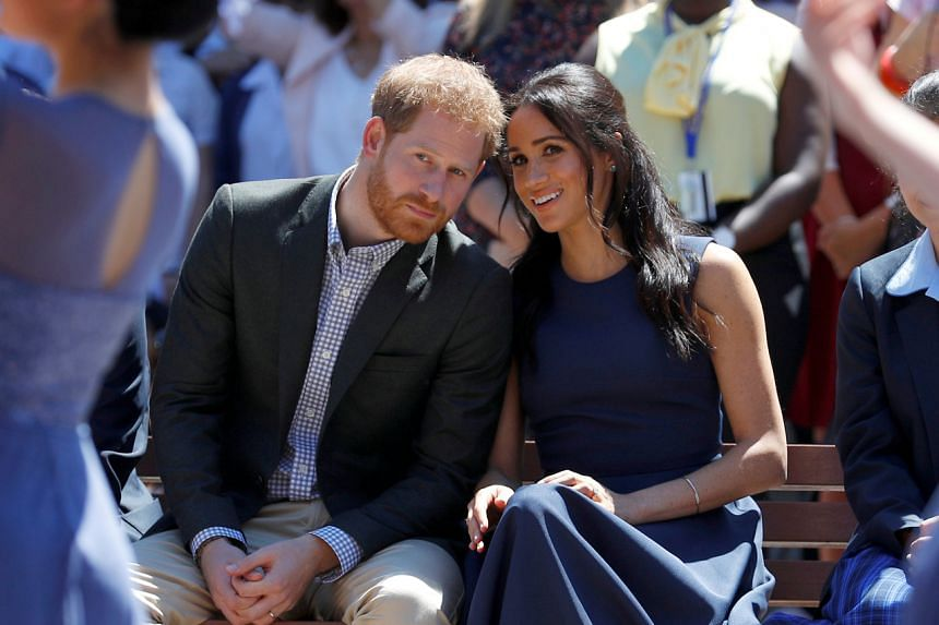 Britain's Prince Harry and his wife Meghan have not said where in North America they planned to reside.