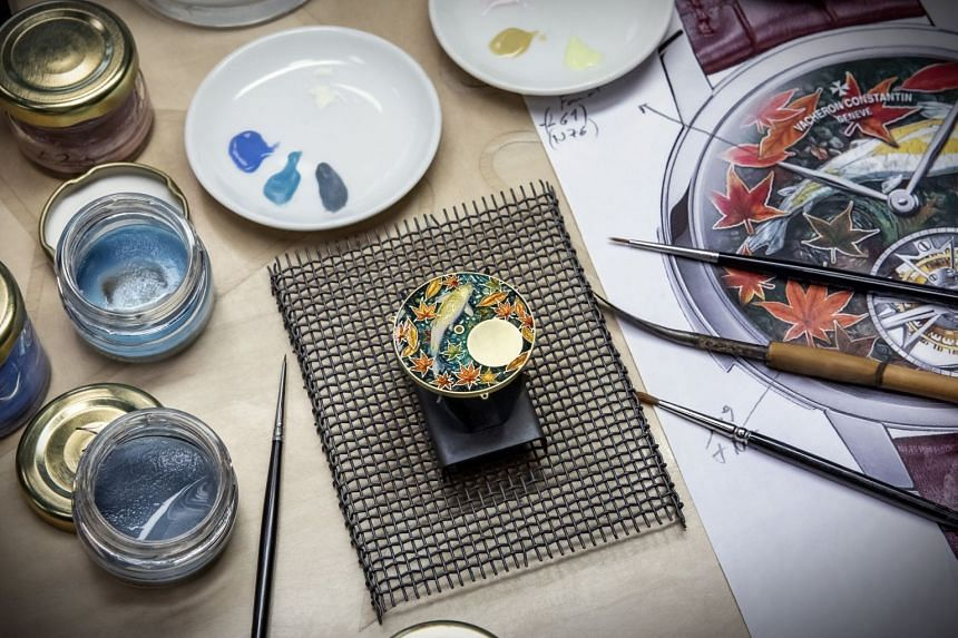 Vacheron Constantin's timepieces boast intricate decorative arts.