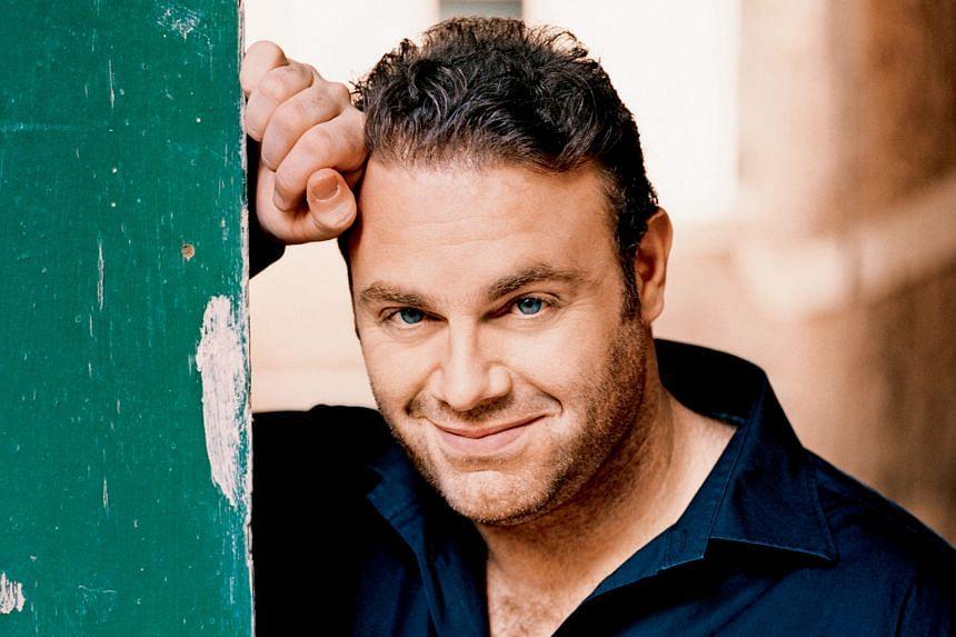 Malta-born opera singer Joseph Calleja will perform with the Singapore Symphony Orchestra at the Esplanade Concert Hall.