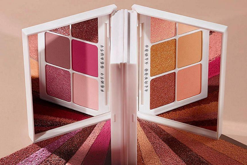 Snap up eyeshadow from Fenty Beauty.