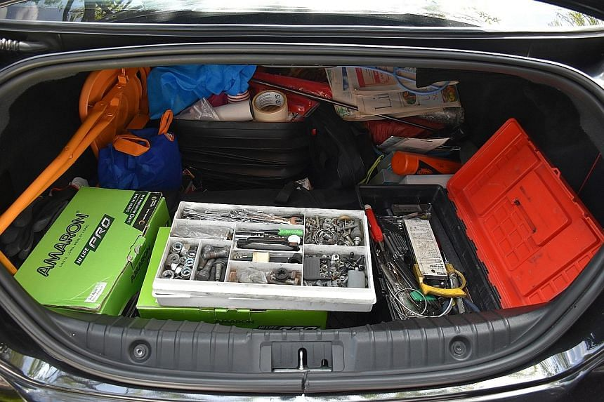 What is in the boot?