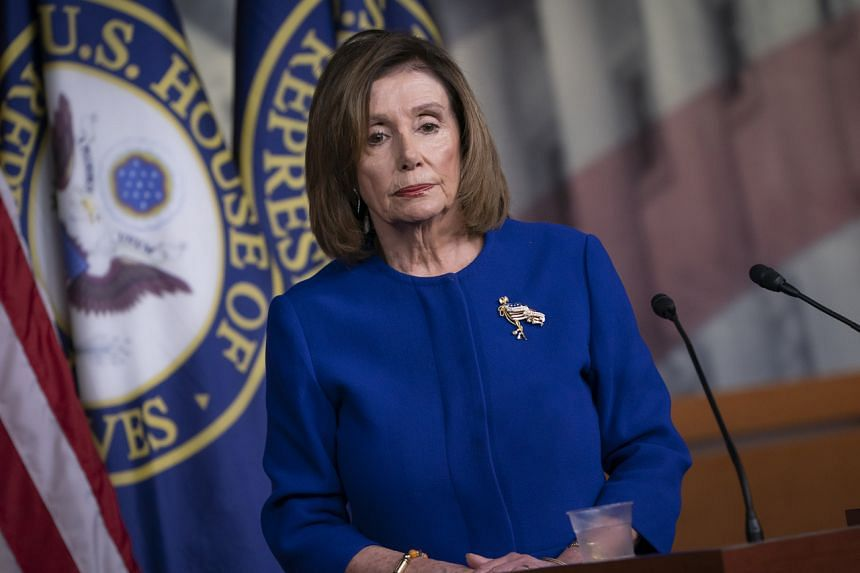 US Speaker of the House Nancy Pelosi warned that senators now have a choice as they consider the charges of abuse and obstruction against the president.