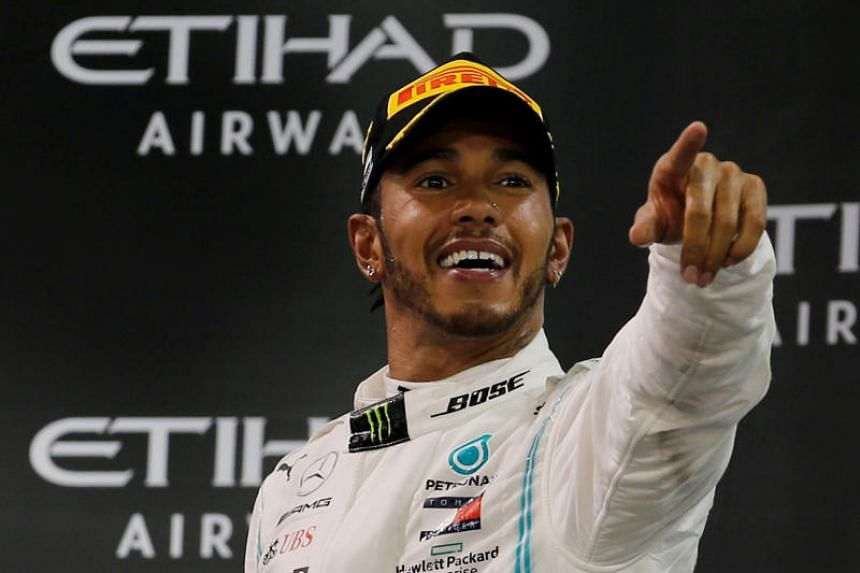 Lewis Hamilton joined the Mercedes team in 2013.