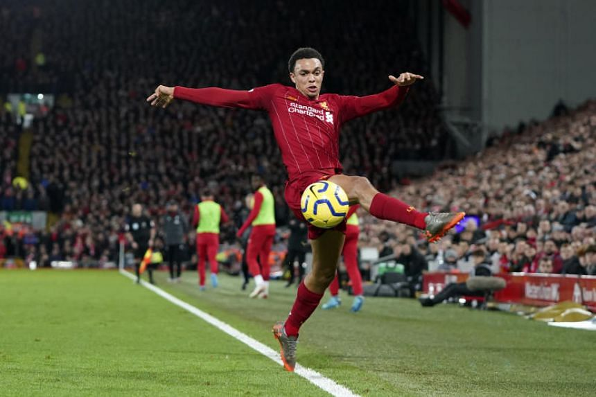Trent Alexander-Arnold has racked up 30 assists and scored six goals in 114 games for the Reds across all competitions.