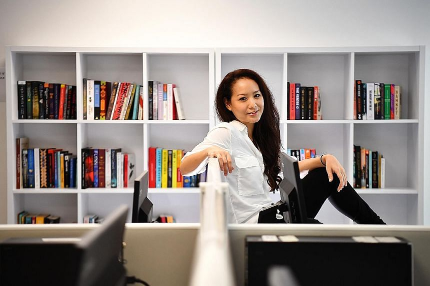 """Amanda Ling (in a photo taken at News Centre) is one examination away from becoming a certified KonMari consultant, but says she is """"in no hurry""""."""