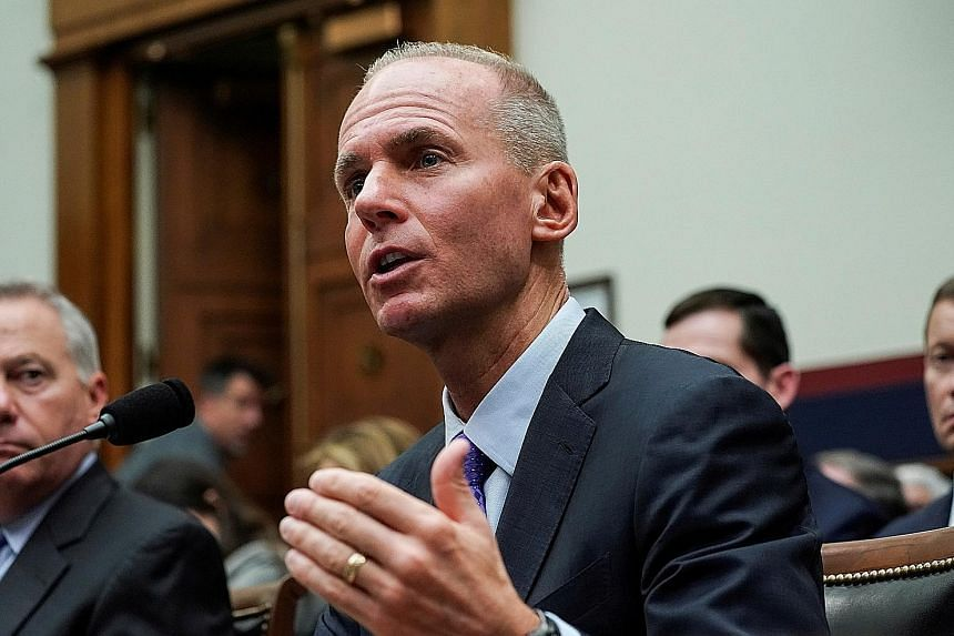 Mr Dennis Muilenburg, who had been Boeing's CEO since 2015, was fired from the job last month.