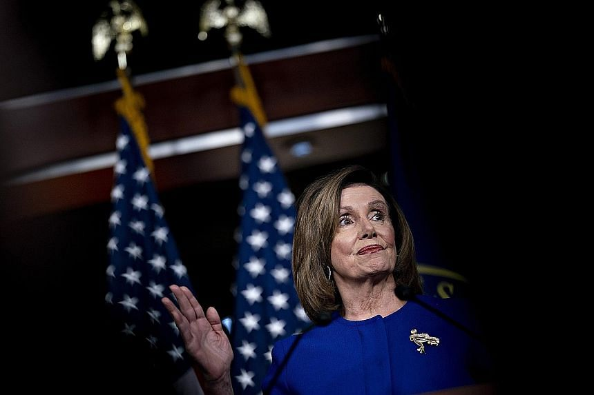 House Speaker Nancy Pelosi's decision to end her showdown with Senate Majority Leader Mitch McConnell does not fully bring closure to the question of whether the Senate will consider new witnesses, shifting pressure on senators to decide. But while t