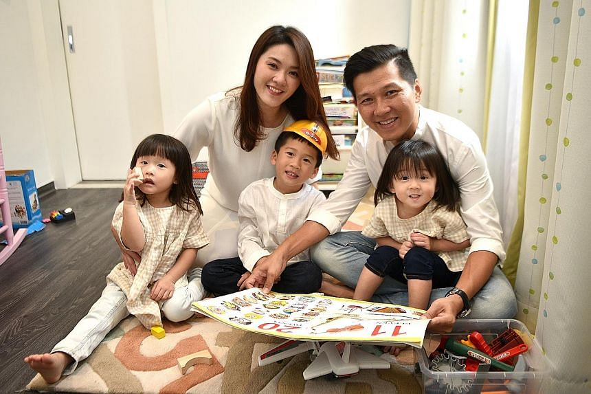 Mr Toh's three-storey, five-bedroom semi-detached house in Potong Pasir, which he bought for $2.75 million in 2017.