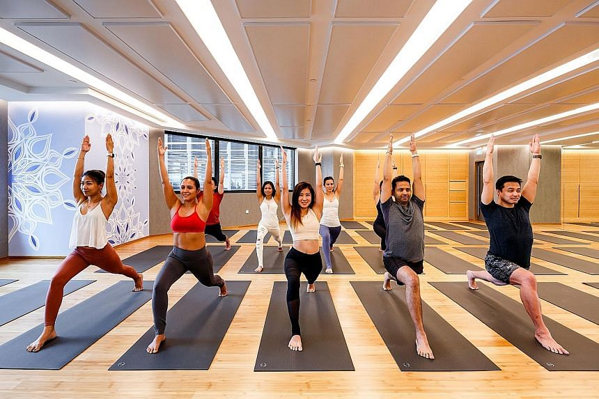 When it comes to depression or stress, joining a beginner's yoga or barre class can have a brightening effect on your mood.
