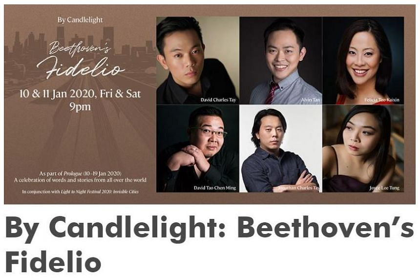 The Opera People presented Beethoven's Fidelio over two nights in conjunction with The Arts House's own Prologue Festival.