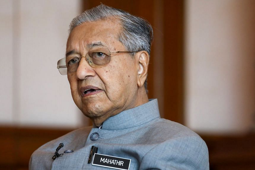 Malaysian Prime Minister Mahathir Mohamad's (above) comments come after questions were raised over whether it was unethical for the anti-graft chief to release the nine clips of conversations.