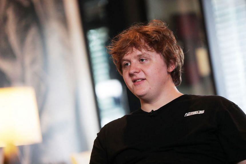 Lewis Capaldi said Someone You Loved is about the death of his grandmother rather than a sad break-up song.