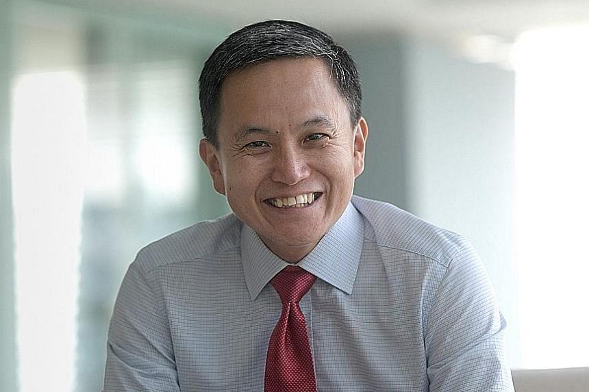 Mr Tan Chin Hwee, 48, is Asia-Pacific chief executive of global commodity trading firm Trafigura.