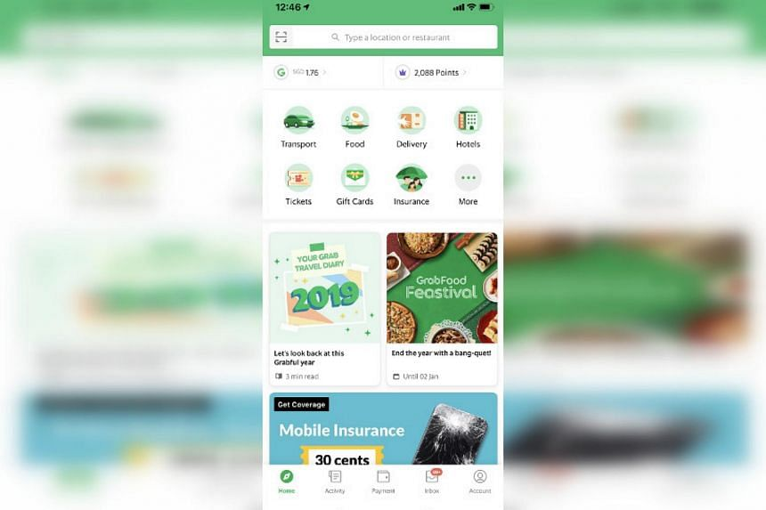 Grab has collaborated with insurer Chubb to launch a travel insurance product for Grab's Singapore customers, both companies said on Monday.