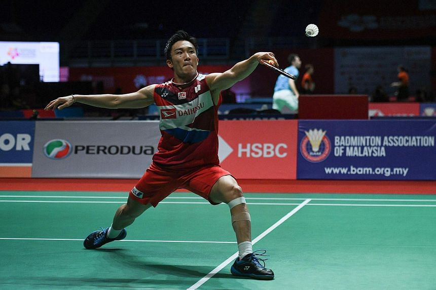 Kento Momota is a two-time champion of the Singapore Open, though it remains to be seen if he will return this year to defend his title.