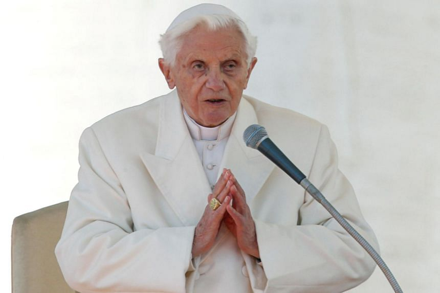 """Benedict XVI's intervention is extraordinary, given he had promised to remain """"hidden from the world"""" when he retired in 2013."""