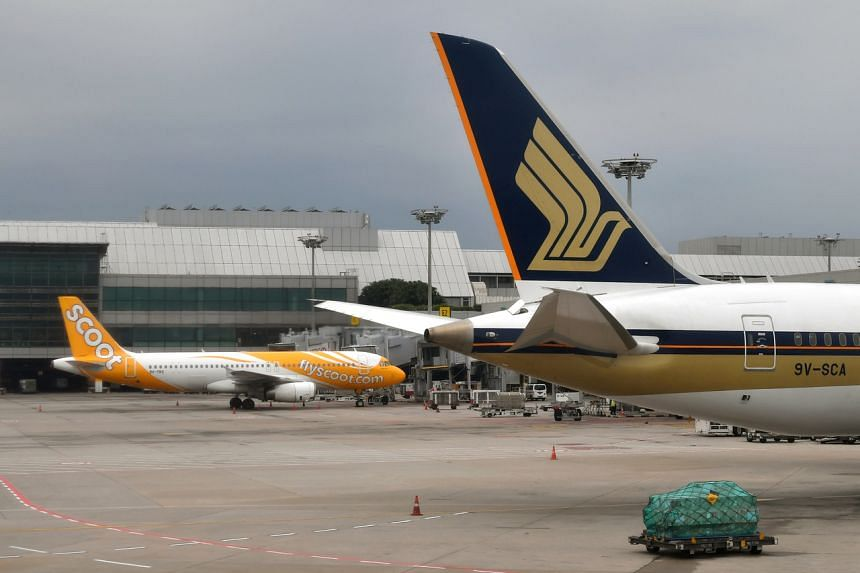 Affected airlines include Singapore Airlines, Scoot, Jetstar Airways and Philippine Airlines, according to Changi Airport's website.