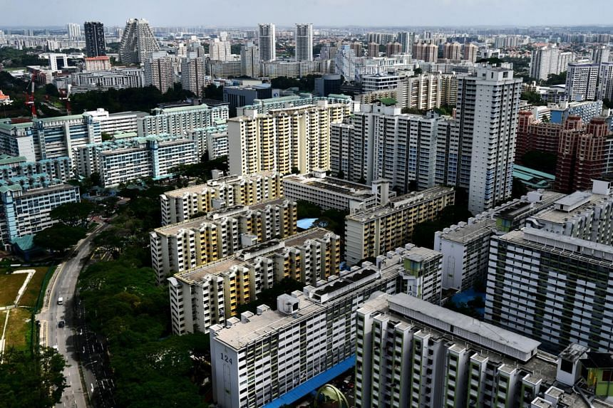 HDB flats in Toa Payoh seen in a photo taken on Dec 12, 2019.