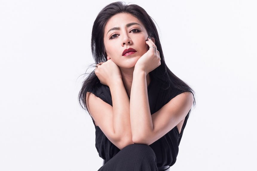 Taiwanese singer-songwriter Eve Ai's (above) four studio albums so far have found favour at the Golden Melody Awards.