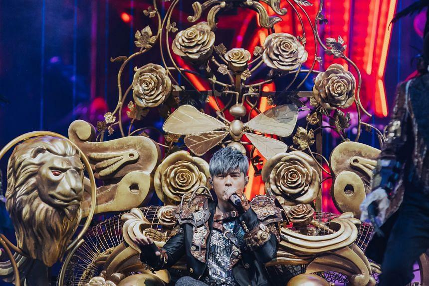Taiwanese megastar Jay Chou.