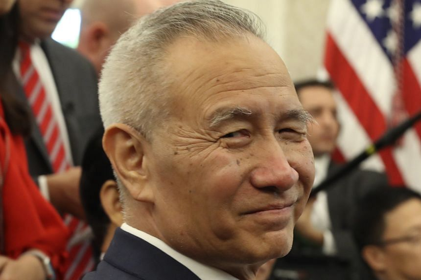 Chinese Vice-Premier Liu He travels to Washington today to seal the trade deal with the US on Wednesday.