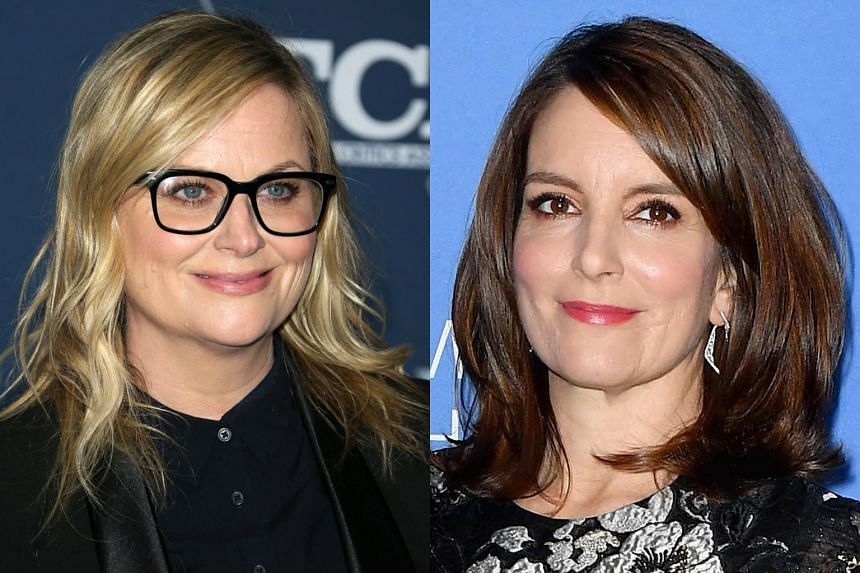 Comediennes Amy Poehler (left) and Tina Fey (right) have hosted the Golden Globes thrice.