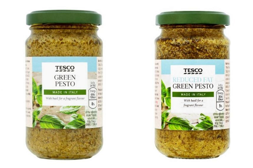A recall is being issued for Tesco Green Pesto and Tesco Reduced Fat Green Pesto after it was found that they contained peanuts not declared on their labels.