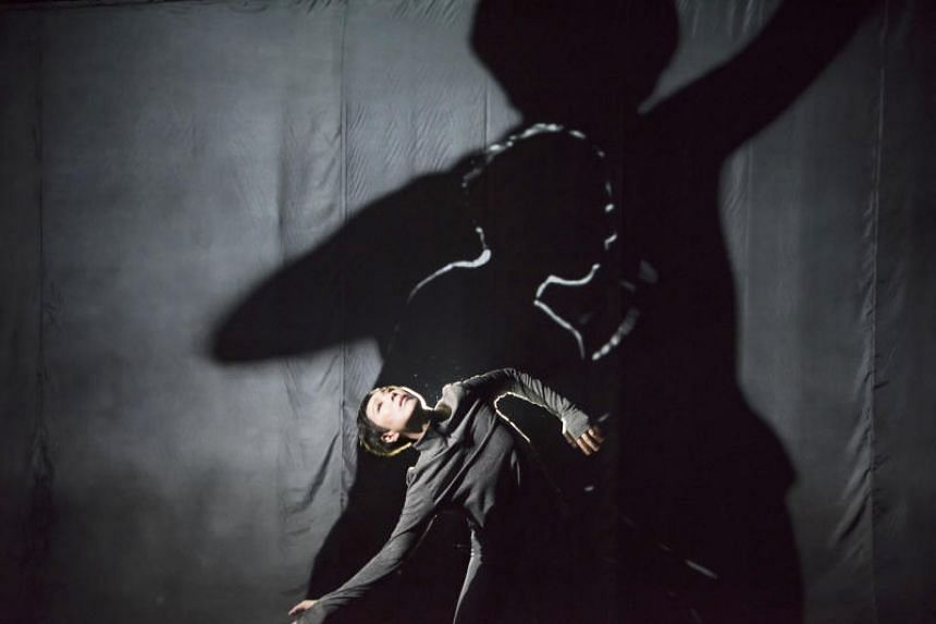 Hong Kong dancer Qiao Yang in her solo work Almost 55, part of Huayi - Chinese Festival of Arts.