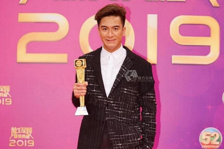 Kenneth Ma said he was surprised at the win and thanked the audience for their reactions after he received the trophy.