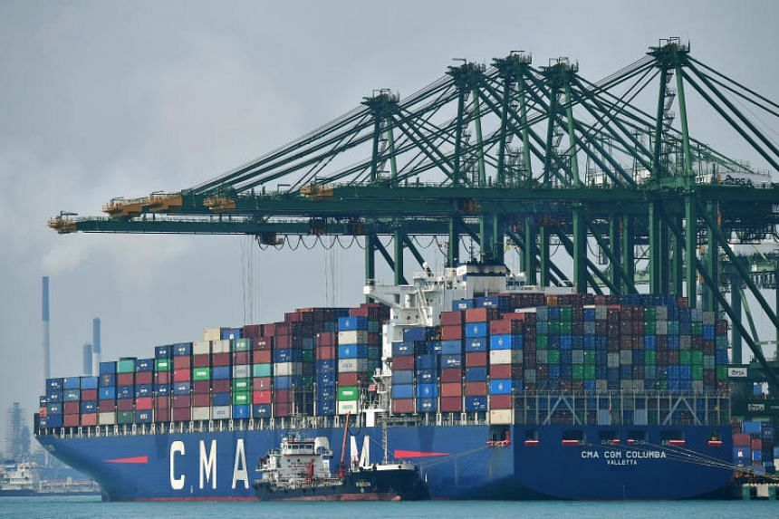 A total of 37.2 million shipping containers were handled here last year, up 1.6 per cent from 2018.