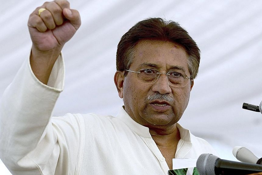 Former military ruler Pervez Musharraf has been in exile in Dubai since 2016.
