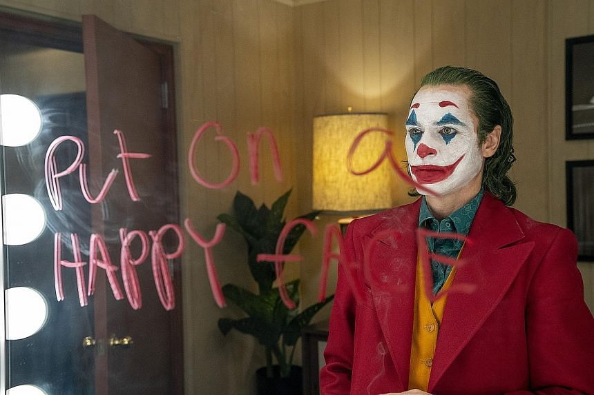 Joaquin Phoenix has been nominated for best actor for his role in Joker.