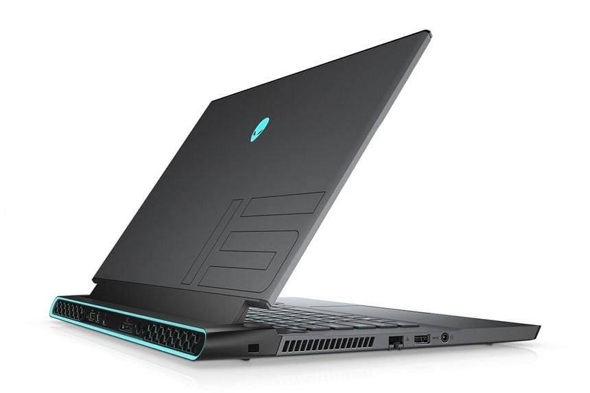 The Alienware m15 R2 gaming laptop has softer and more modern curves in place of its predecessor's sharp and angular lines.